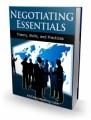 Negotiating Essentials Plr Ebook