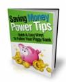Saving Money Power Tips Mrr Ebook