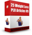 25 Weight Loss Plr Articles V9 PLR Article