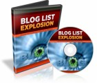 Blog List Explosion PLR Video With Audio