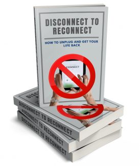 Disconnect To Reconnect MRR Ebook