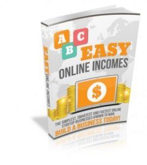 Easy Online Income Streams MRR Ebook