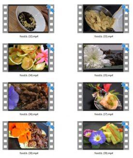 Food Stock Videos Three – V2 MRR Video