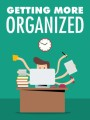 Getting More Organized MRR Ebook