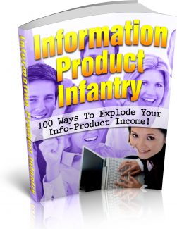 Information Product Infantry PLR Ebook