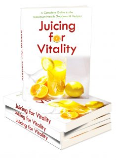 Juicing For Vitality MRR Ebook