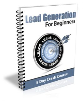 Lead Generation For Beginners PLR Autoresponder Messages