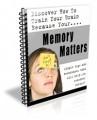 Memory Matters Newsletter PLR Autoresponder Messages