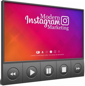 Modern Instagram Marketing Video Upgrade MRR Video