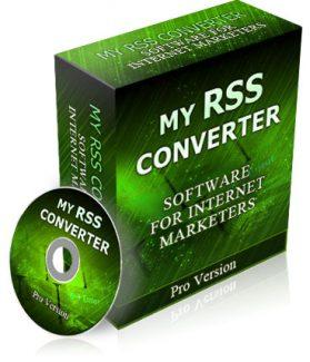 My Rss Converter PLR Software