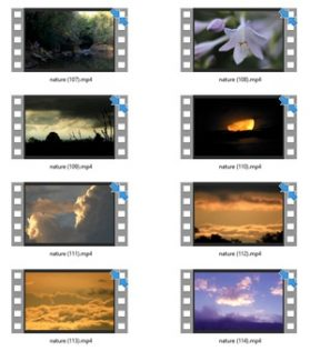 Nature Stock Videos Seven – V2 MRR Video