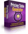 Pricing Table Generator MRR Software
