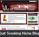 Quit Smoking Niche Blog Personal Use Template
