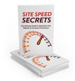 Site Speed Secrets MRR Ebook