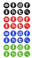 Social Media Icons Personal Use Graphic