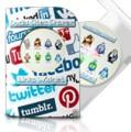 Social Site Sharer Links Widget Developer License Script