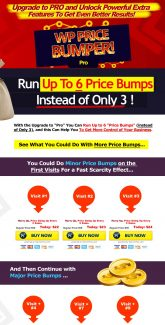 Wp Price Bumper Pro Personal Use Software