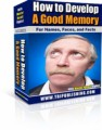 How To Develop A Good Memory Mrr Ebook