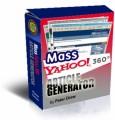 Mass Yahoo Article Generator MRR Software