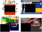 4 Video Squeeze Page Templates PLR Template