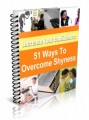 51 Ways To Overcome Shyness And Low Self-Esteem Resale ...