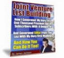 Joint Venture List Building Resale Rights Ebook