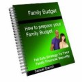 Family Budget - How To Prepare Your Family Budget ...