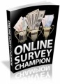Online Survey Champion Plr Ebook