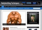 Bodybuilding Niche Blog Personal Use Template With Video