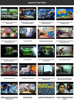 Aquarium Tank Instant Mobile Video Site MRR Software