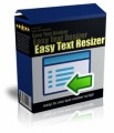 Easy Text Resizer Give Away Rights Software