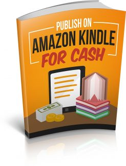 Publish On Amazon Kindle For Cash MRR Ebook