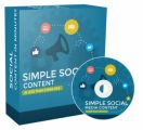 Simple Social Media Content PLR Video With Audio