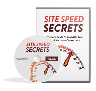 Site Speed Secrets Video Upgrade MRR Video With Audio