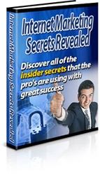 Internet Marketing Secrets Revealed Plr Ebook