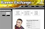 Banner Exchange Yellow Design Personal Use Template