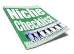 Niche Checklist Resale Rights Ebook