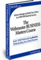 The Webmaster Business Masters Course Resale Rights Ebook