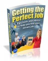 Getting The Perfect Job Mrr Ebook
