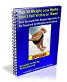 Top 10 Weight Loss Myths MRR Ebook
