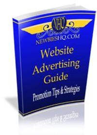 Website Advertising Guide MRR Ebook