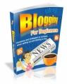 Blogging For Beginners Mrr Ebook