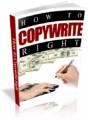 How To Copywrite Right Plr Ebook