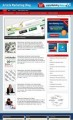 Article Marketing Niche Blog Personal Use Template With ...