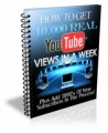 How To Get 10,000 Real YouTube Views In A Week Plr Ebook