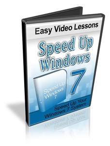 Speed Up Windows 7 Resale Rights Video