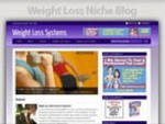 Weight Loss Niche Blog Personal Use Template With Video