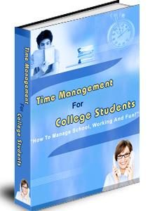 Time Management For College Students PLR Ebook
