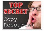 Top Secret Copy Resources Plr Ebook
