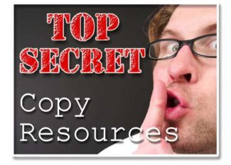 Top Secret Copy Resources Plr Ebook